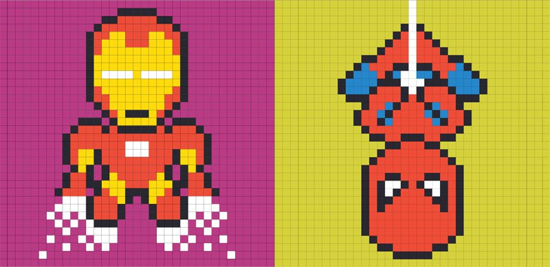 employee-uses-post-its-to-turn-drab-office-walls-into-giant-superhero-murals-24