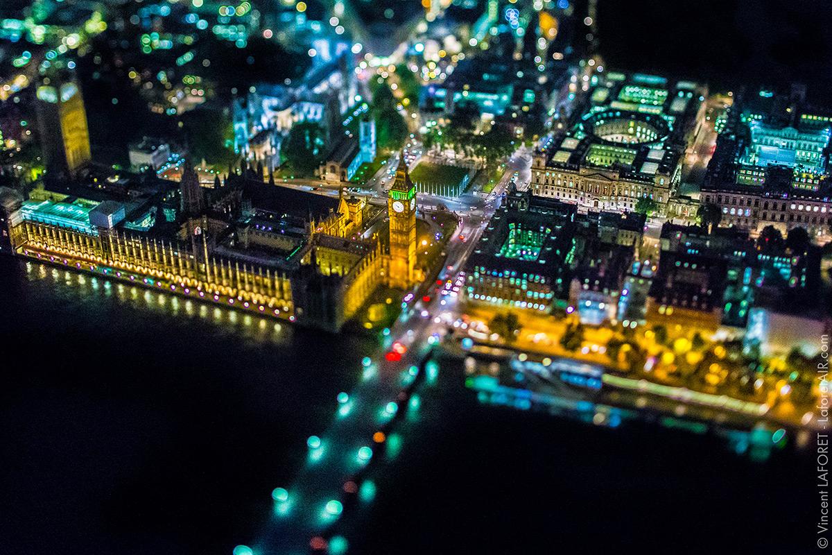 Нічний Лондон. Фото з висоти 1830 метрів