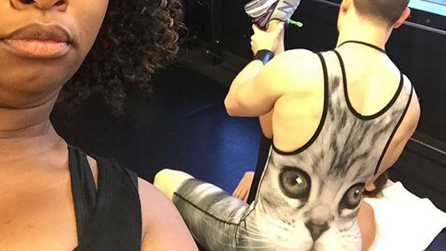 Коти для тренажерки