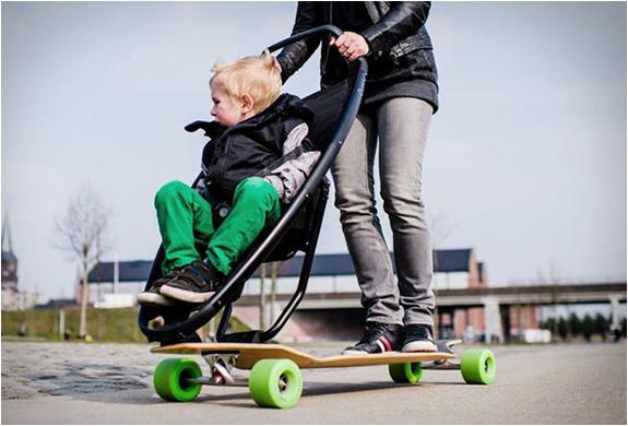 Longboardstroller-a-stroller-skateboard-combined-1