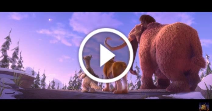 """Офіційний трейлер нового """"Льодовикового періоду"""""""