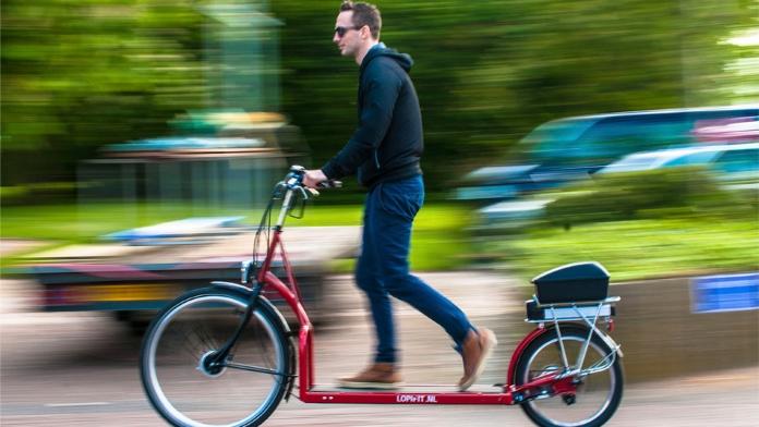 Йти, щоб їхати. Перший в світі пішохідний велосипед