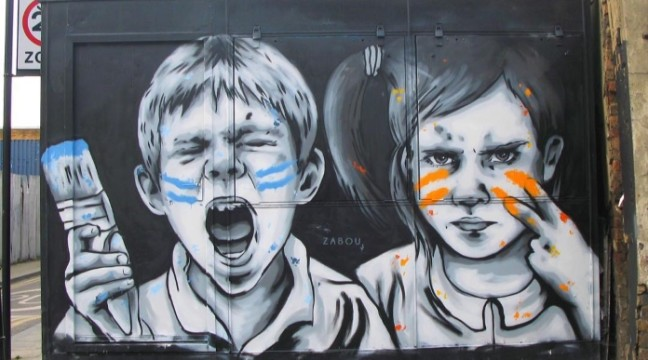 Вуличне мистецтво у Лондоні