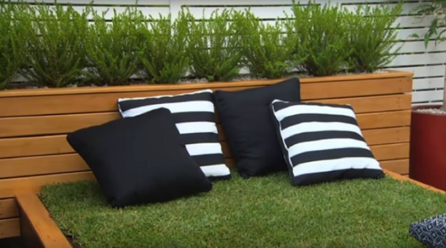 Ліжко з трави