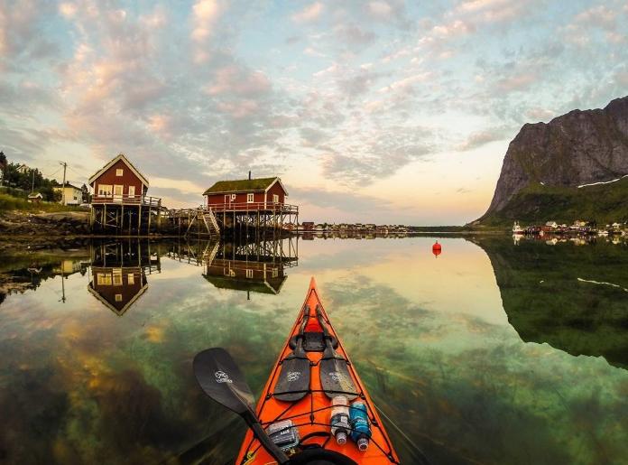 Фіорди Норвегії з байдарки