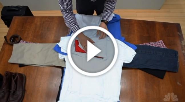 Лайфхак: як правильно складати речі, щоб вмістити все у валізу