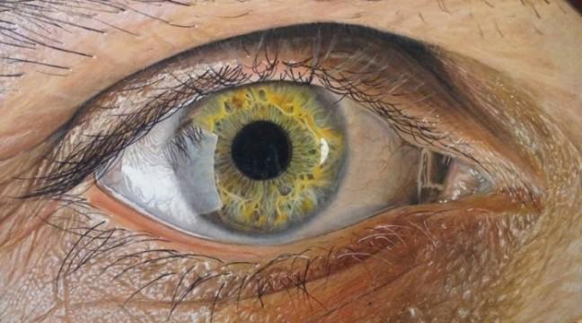 Дуже реалістичні очі від 19-річного художника