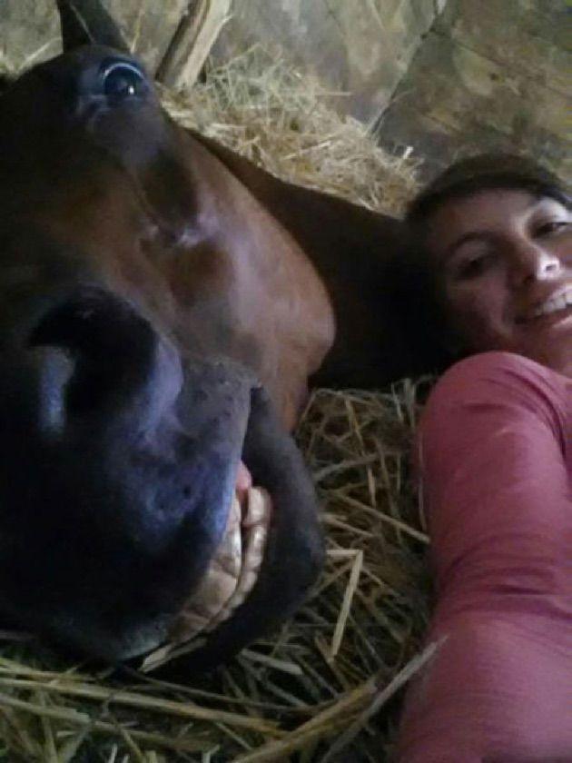 cute-face-horse-woman