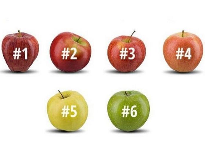 Виберіть яблуко і дізнайтеся про себе дещо цікаве
