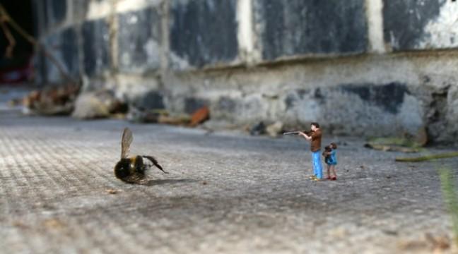 Стріт-арт: Маленькі люди у великому місті