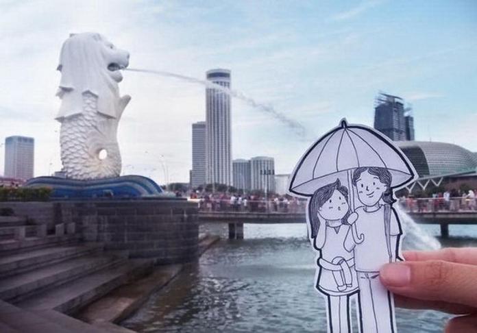 Подорож без селфі – оригінальний проект молодої пари