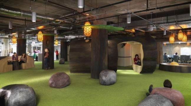 10 найкреативніших офісів світу. Райські місця!