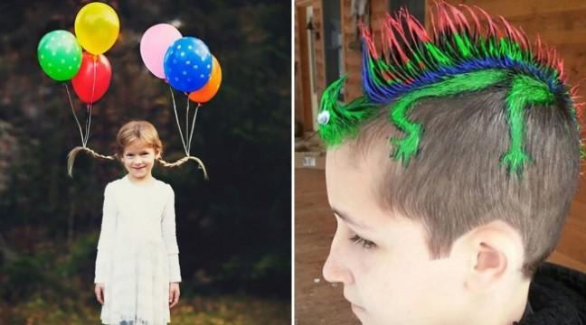 20 найоригінальніших дитячих зачісок