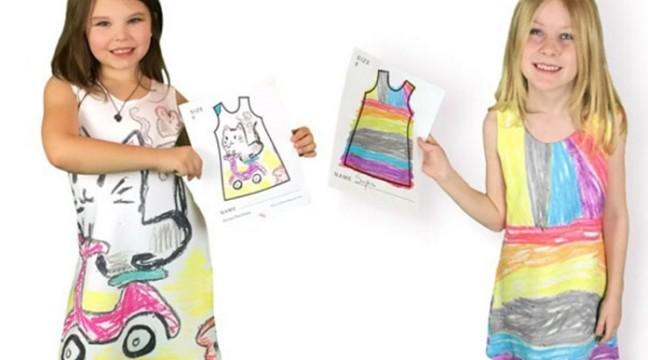 """Компанія """"Picture This"""" перетворює дитячі каракулі у дизайнерський одяг"""