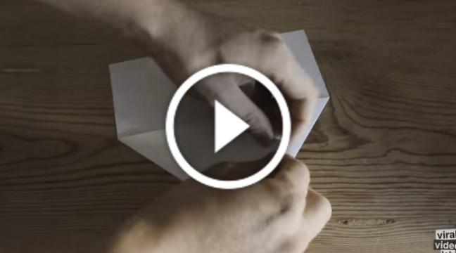 Як зробити паперовий літачок, який буде літати вічно