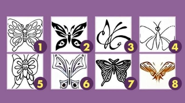 Тест: вибери метелика і дізнайся про себе більше