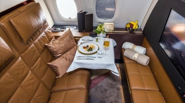 От як виглядає подорож на борту найбільш вишуканого літака в світі