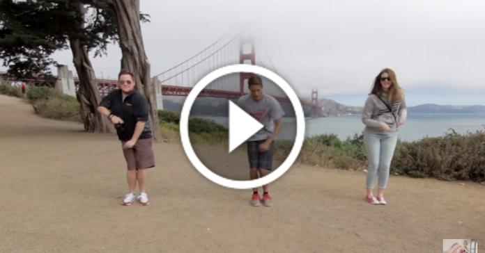 Мандрівник станцював один танець з 100 різними людьми. Вийшло круте відео!
