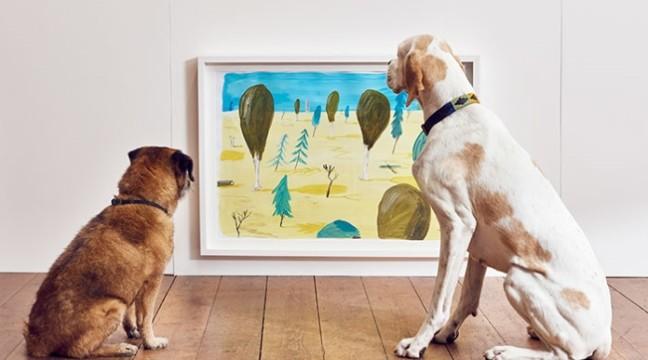 У Лондоні відкрилася мистецька виставка для собак