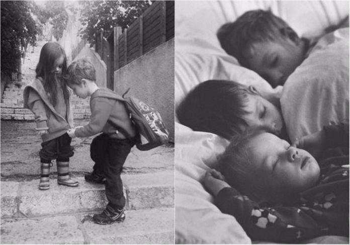 Фото про те, як круто мати брата чи сестру