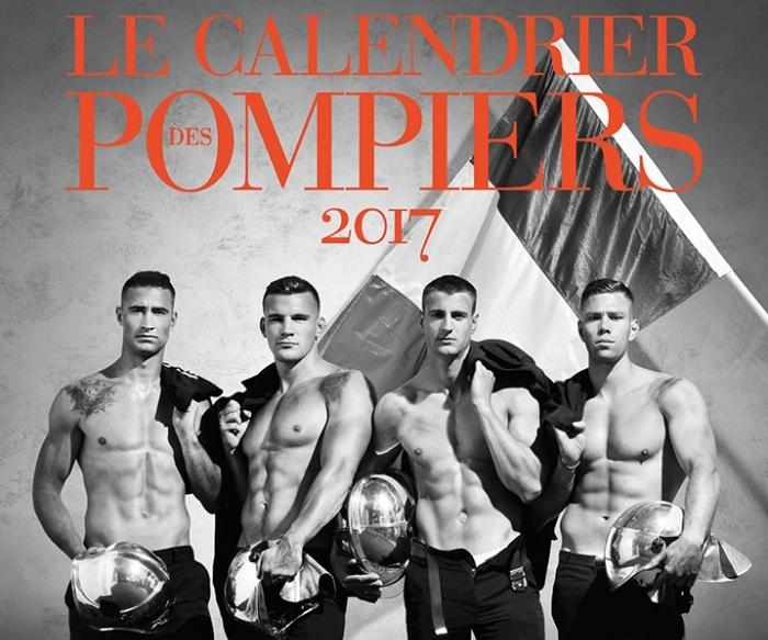 Французькі пожежники випустили найгарячіший календар року