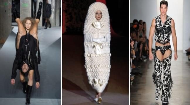 30 найбезглудніших вбраннів з модних показів