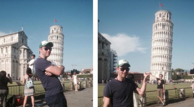 Придивіться до фото цього туриста