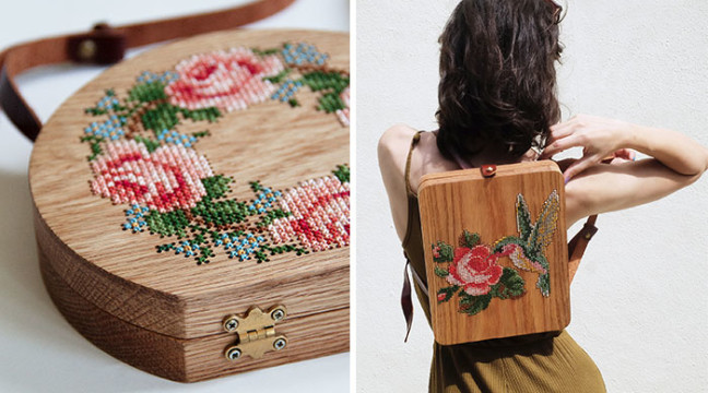 Унікальні дерев'яні сумки з крутими візерунками почали виготовляти у Стамбулі