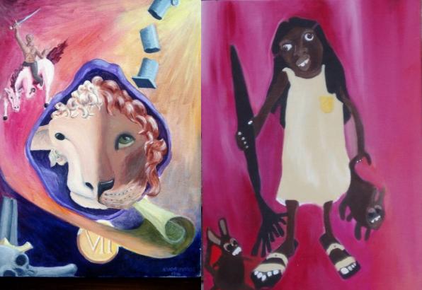 Березневе божевілля (ліворуч), Таємниці Анни, яка живе під сходами (праворуч)
