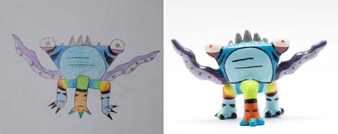 Що вийде, якщо роздрукувати дитячі каракулі на 3D-принтері