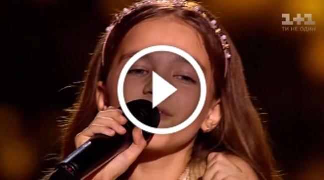 Чудове виконання української пісні від дівчинки з Луганська