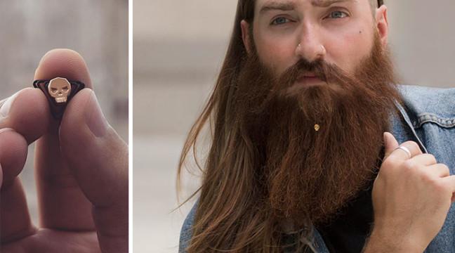 Новий модний хіт: ювелірні прикраси для бороди
