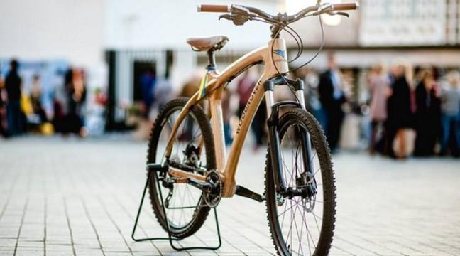 Українська компанія створює справжні дерев'яні велосипеди!