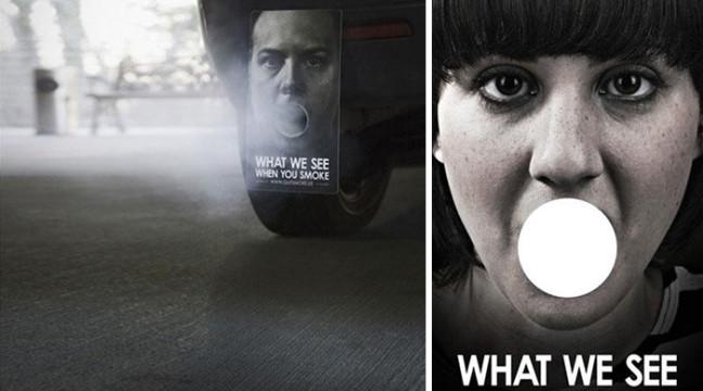 11 найпотужніших антиреклам, спрямованих на боротьбу з курінням