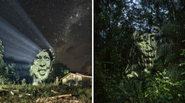 Дивовижний стріт-арт в тропічних лісах Амазонки