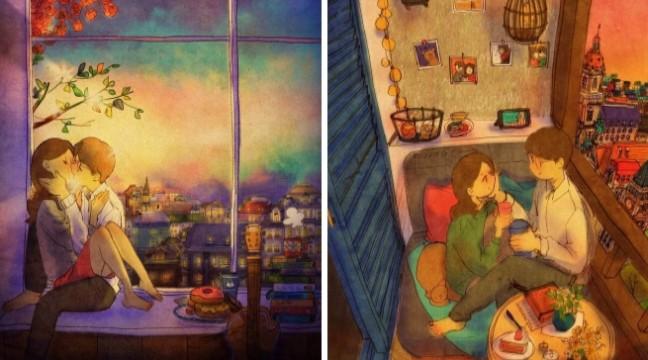 Любов у дрібницях: 30+ теплих коміксів про найголовніше