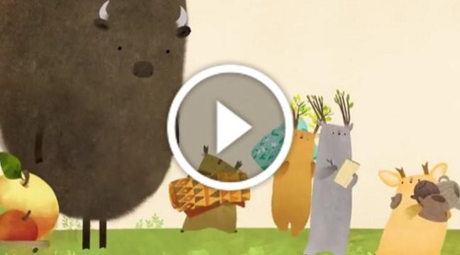 """""""Зубр шукає гніздо"""" – нова ілюстрована книжка від Оксани Були (дивіться Буктрейлер)"""