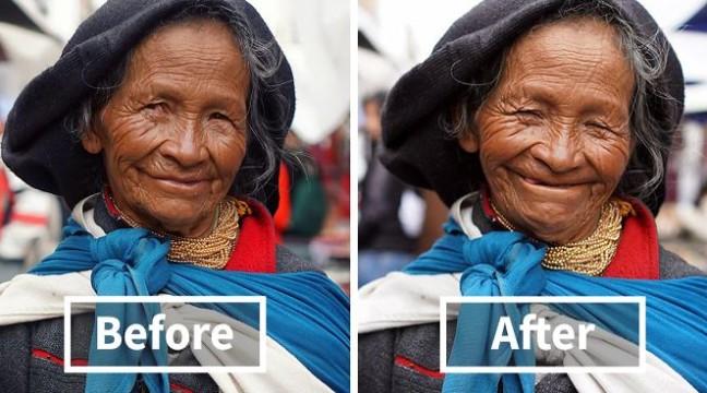Мандрівник-фотограф показав, як змінюються люди, коли їм роблять комплімент
