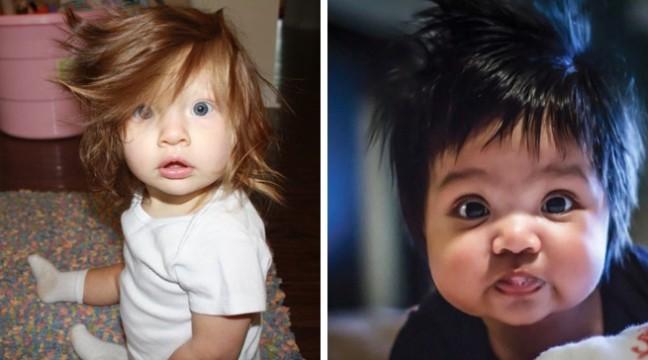 Зачіскам цих немовлят позаздрить кожен модник!