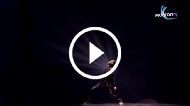 Дивовижний танець зі спецефектами. Дух захоплює!