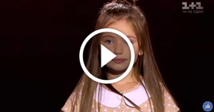 """8-річна дівчинка підірвала зал, заспівавши пісню """"Тримай"""" Христини Соловій"""