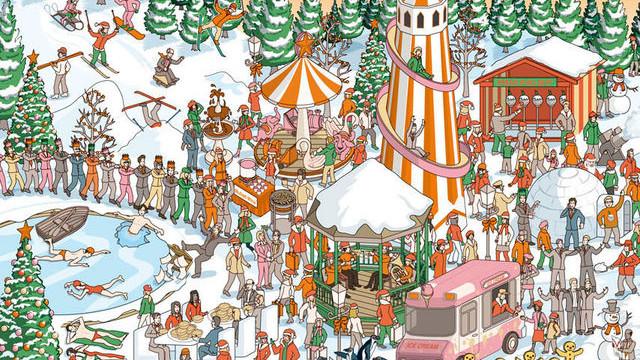 Усі шукають Санта Клауса. А ви бачите його?