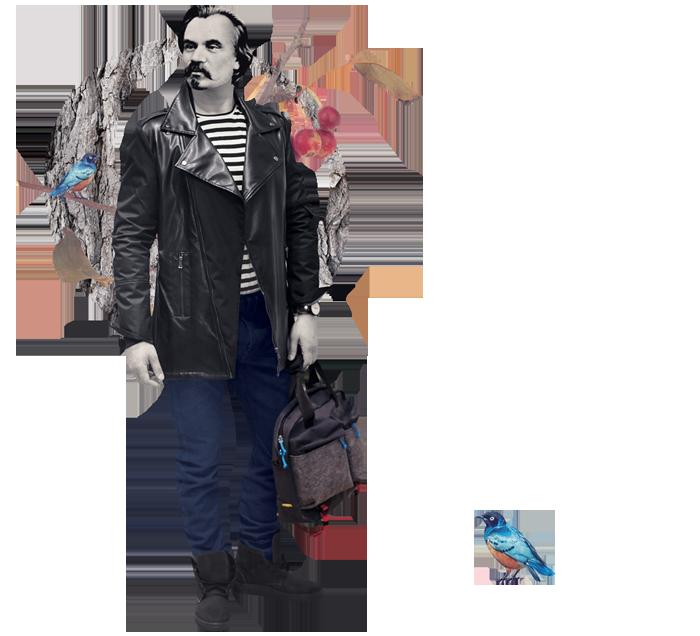Речі: тільник J.Cook, куртка Duck Side, джинси Brooklyn Brooklyn, ремінь Two Bulls & A Carriage, годинник Manta Leather, сумка WRBL, чоботи Pilgrim.shoes