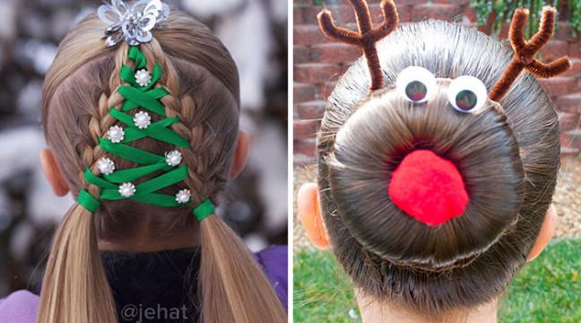10 оригінальних зачісок, які можна зробити на Новий рік