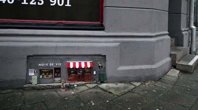 У Швеції з'явився мініатюрний магазин для мишей