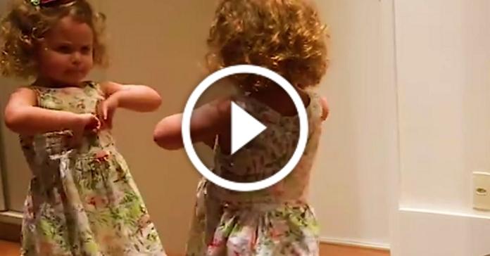 Маленька дівчинка довела, що грація – це вроджена жіноча якість :D