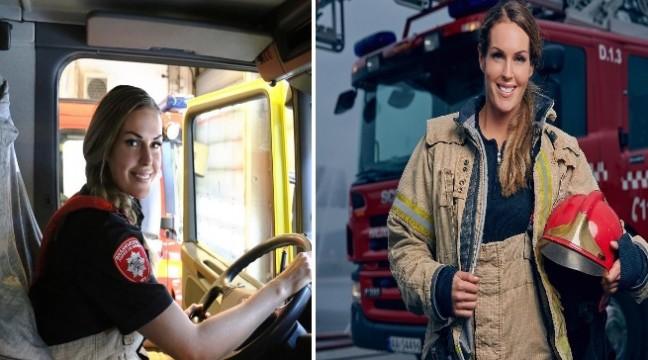 Гунн Нартен – найкрасивіша жінка-пожежник у світі
