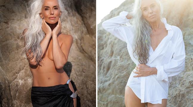 61-річна модель, яка знялася в новій рекламі купальників, поділилася секретом своєї краси