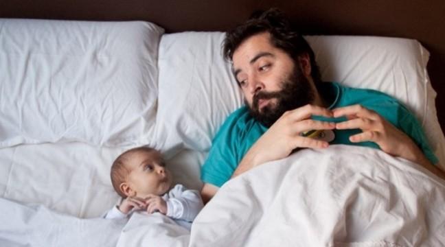 15 крутих фотографій про тата і його маленьку копію