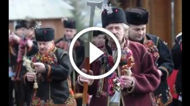 Як колядують на Прикарпатті. Щирий дух українського Різдва